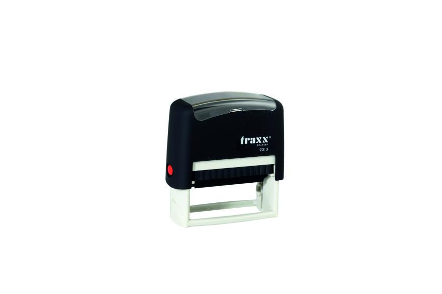 TRAXX T-Printer FR Self Inking Stock Text StampDebit 0323